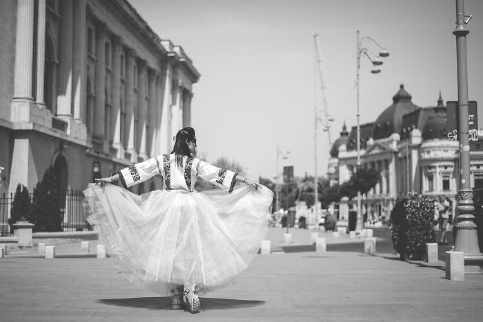 Romanian Ballerina Shows The Elegance And Grace Of Tradition
