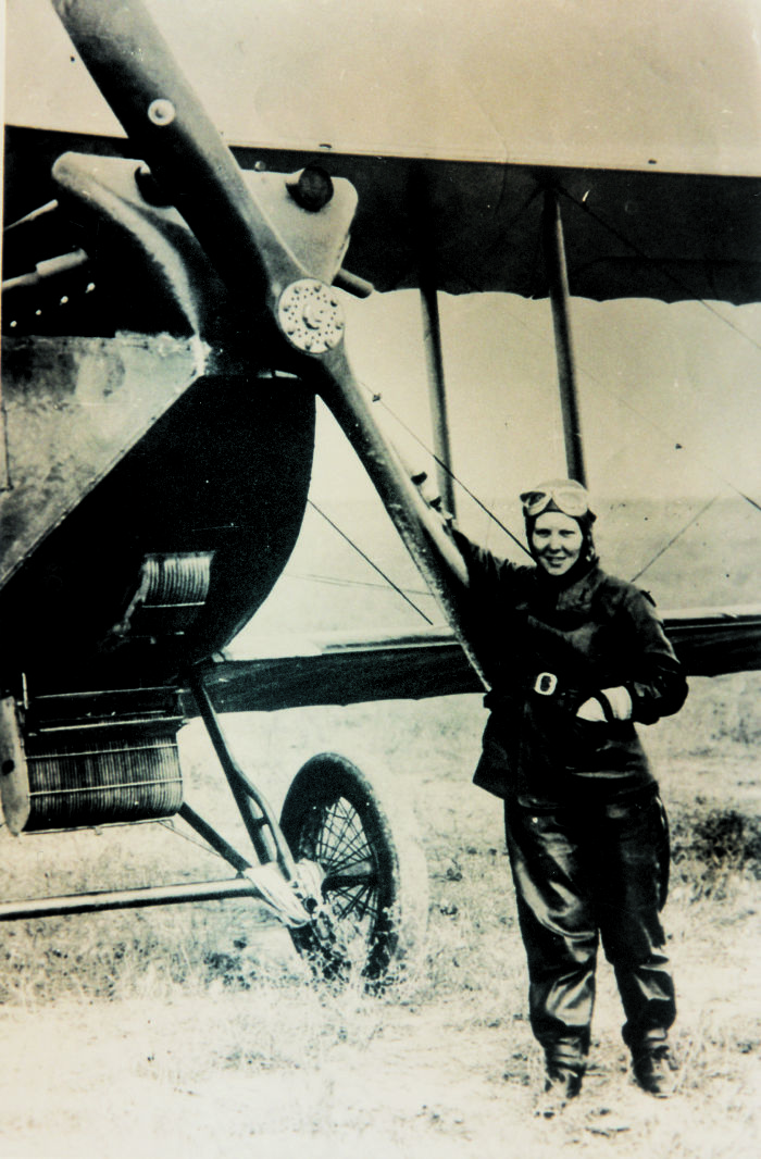 Sabiha Gokcen – First Turkish Female Combat Pilot And A World Pioneer, Aged 23 (1936)