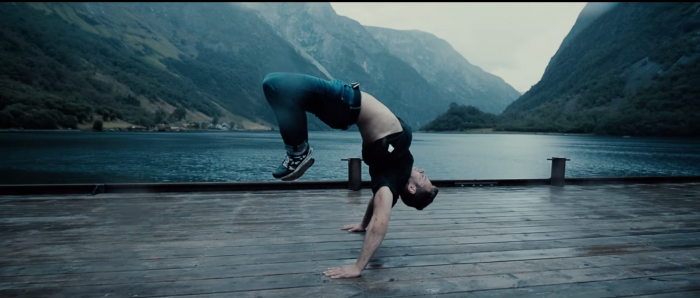 Breakdancing In The Fjords Of Norway