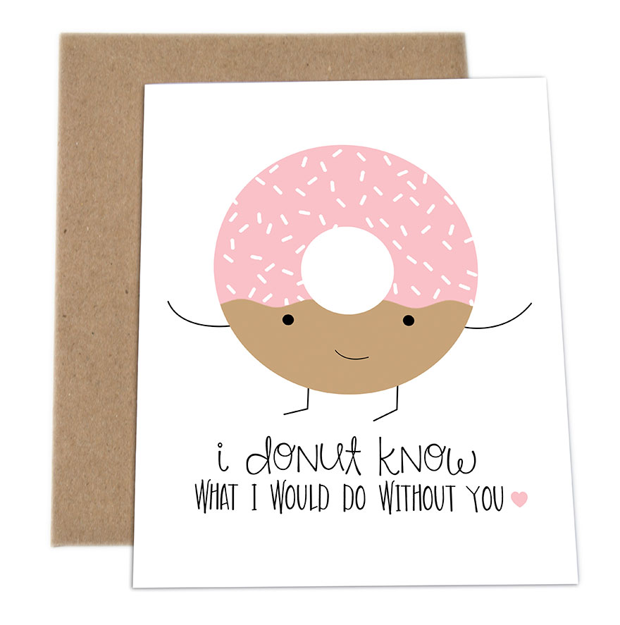 Cute Birthday Cards For Him ~ The cutest pun cards by impaper bored panda
