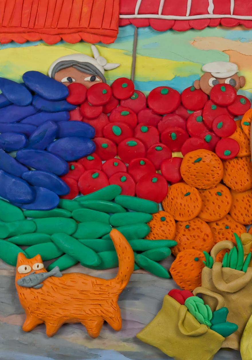 Plasticine fairy tale by Anastasia Volkova - Art Kaleidoscope  Plasticine Sculpture