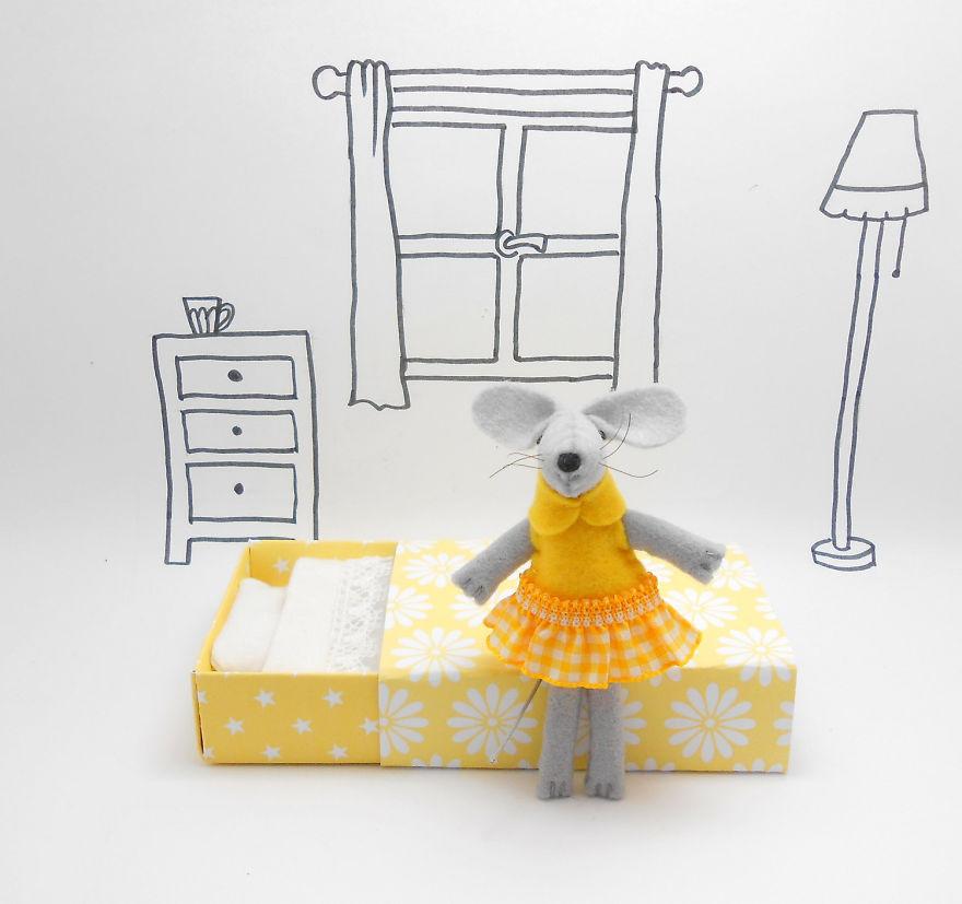 I Make Cute Stuffed Mice From Wool