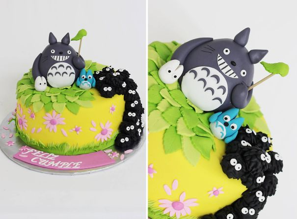 Totoro Cake By Hola Cupcakes Costa Rica
