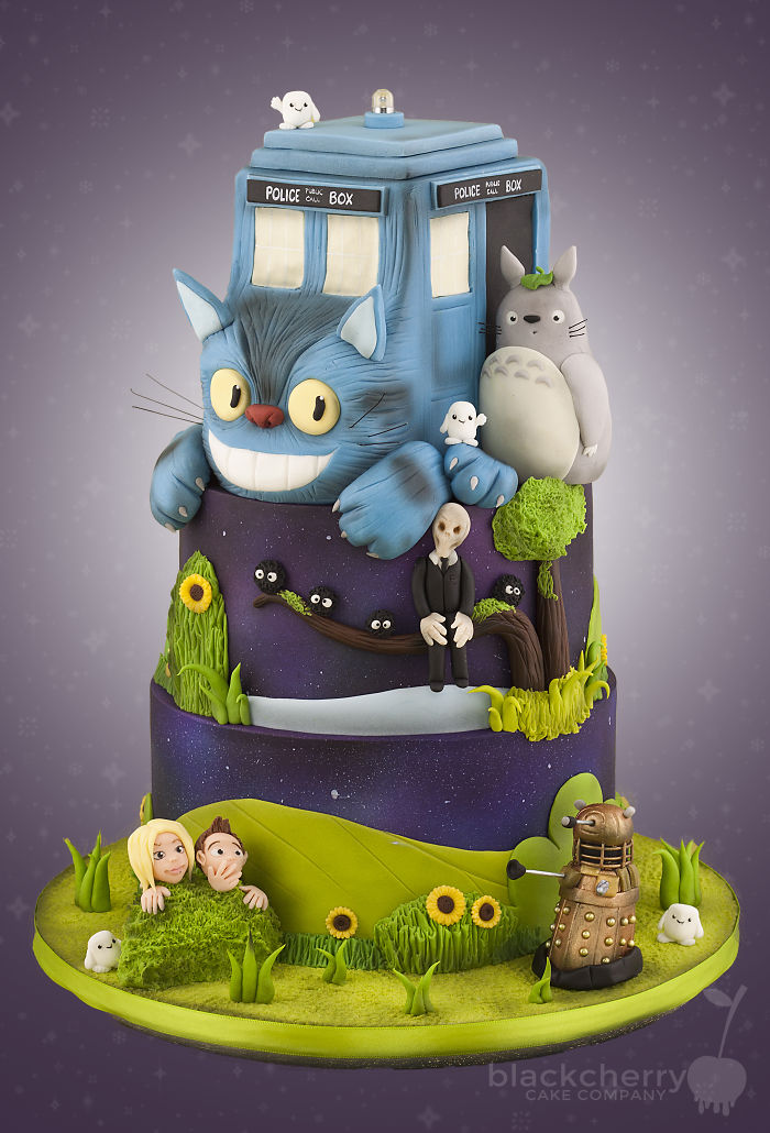 Dr Who Meets Totoro