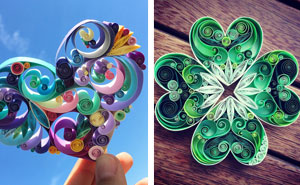 Woman Quits Her HR Job To Create Paper Art