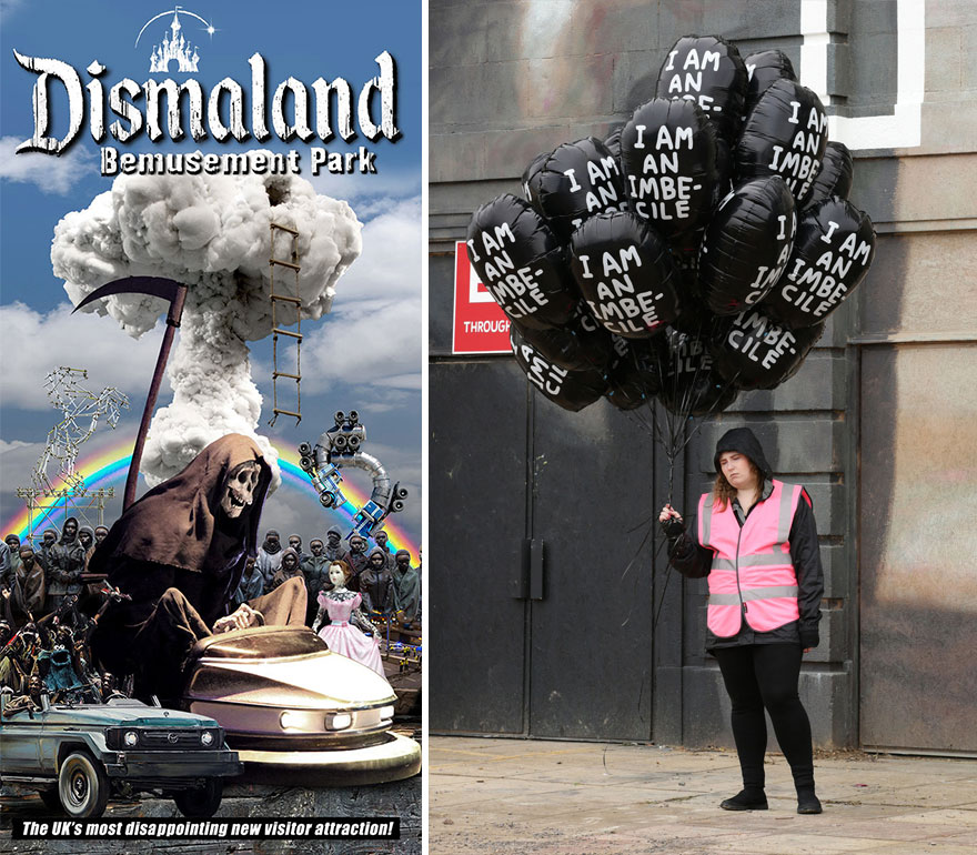 Banksy's Dismaland: Take A First Look Inside Nightmare ...