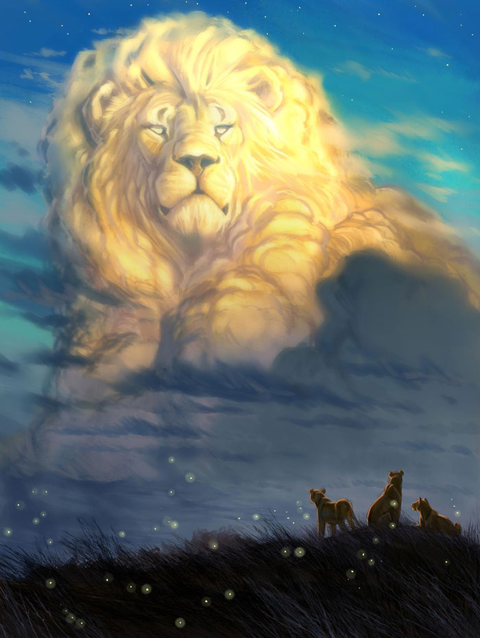 'Lion King' Artist Paints Majestic Tribute To Cecil The Lion