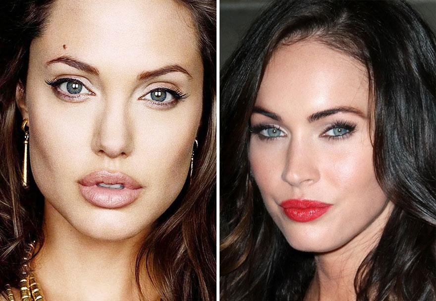 Celebrity & Pop Star Face Mashup Photos! - Billboard