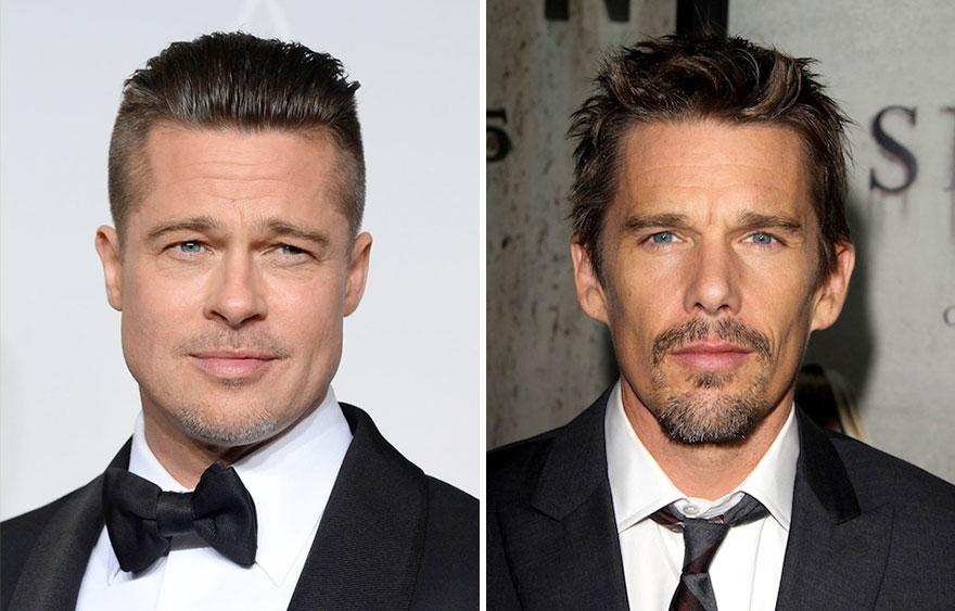 Brad Pitt + Ethan Hawke =