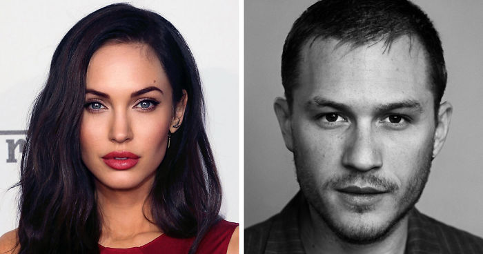 Celebrity mixed faces