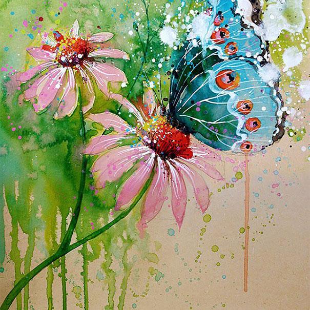 colorful-animal-watercolor-paintings-tilen-ti-5