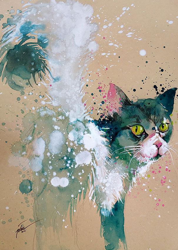 colorful-animal-watercolor-paintings-tilen-ti-7