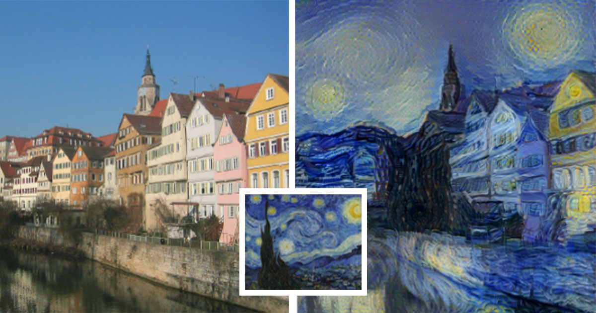 New Neural Algorithm Can Paint Photos In Style Of Any