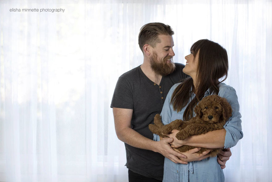 Couples doggie style photography