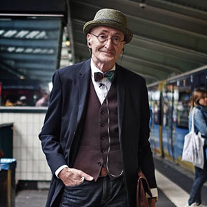104-Year-Young Grandpa Has More Style Than You (And Less Years Than Internet Says)