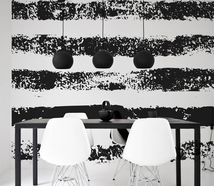 Interior Design With Black And White Stripes  Classic Or Modern?