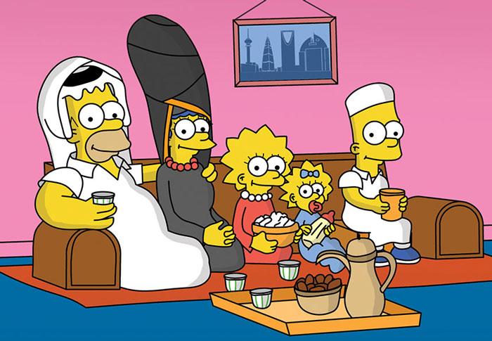 Famous Cartoon Characters With Arabian Twist