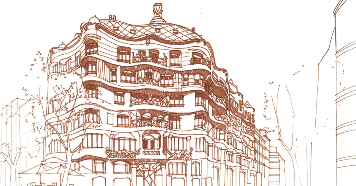 Architectural Drawings By Maja Wronska