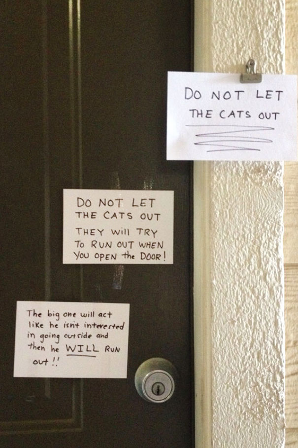 My Neighbor Left Some Notes For The Maintenance Guy