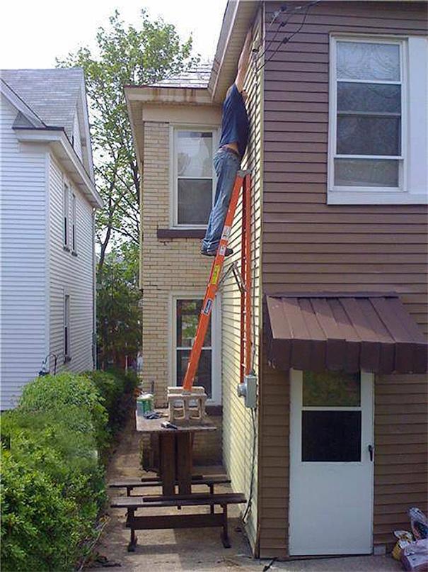 Very Dangerous Work-At-Height Method