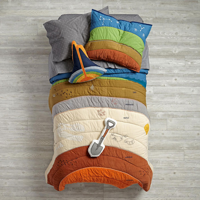 Bedding Showing The Layers Of The Earth Will Bury You In Awesomeness