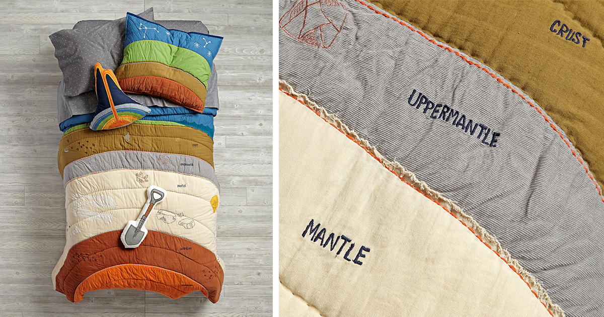 Bedding Showing The Layers Of Earth Will Bury You In Awesomeness