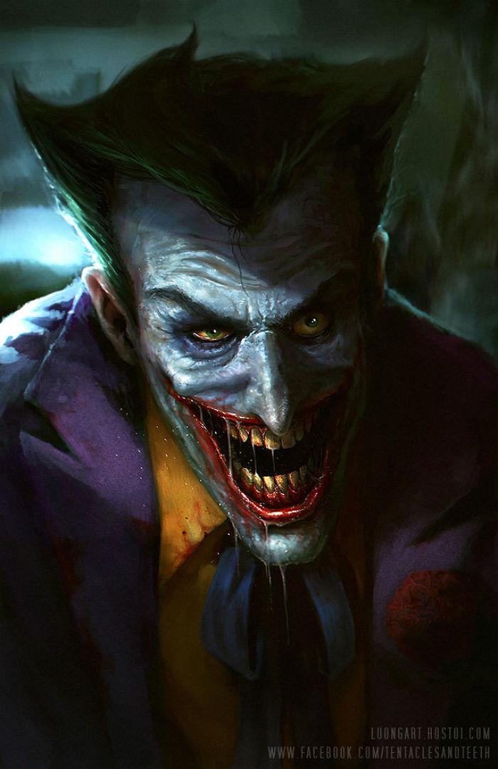 My Top 5 Favourite Pieces Of Joker Fan Art