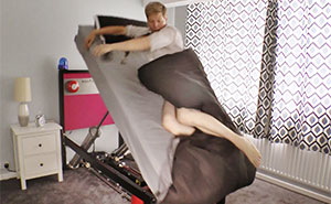 Inventor Creates High Voltage Ejector Bed For People Who Can't Wake Up
