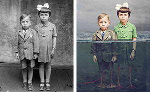 Historic Glass-Plate Photos From Romania Restored And Turned Into Colorful Art (Part 2)