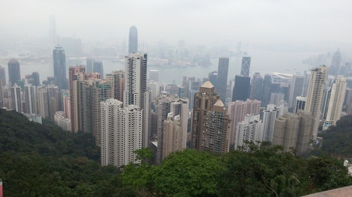 Victoria Peak Building, Hong Kong