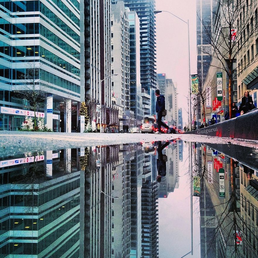 The Parallel Worlds Of Puddles