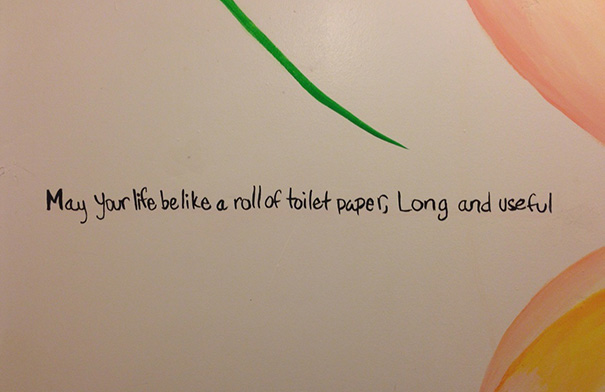 Beautiful Bathroom Graffiti 15+ inspirational bathroom stall messages to make your day less