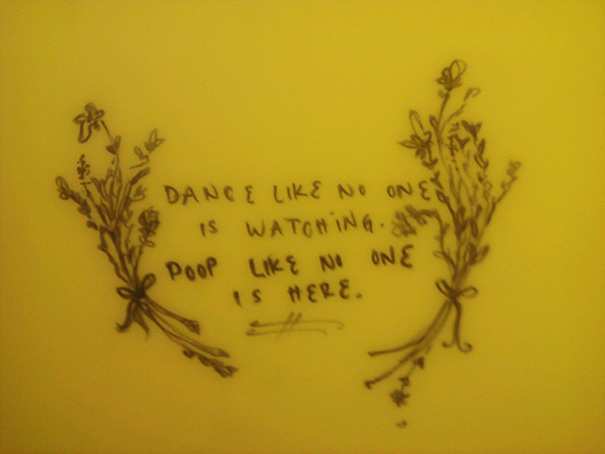 Great Bathroom Stall Quotes 10 of the finest motivational quotes ever to be found on a toilet wall
