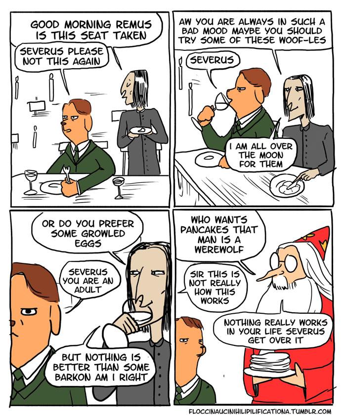 15 Funny 'Harry Potter' Comics Reveal How Irresponsible Dumbledore