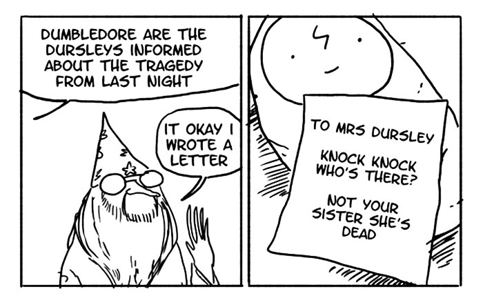 When Dumbledore Explained The Death Of Harry's Parents By Letter
