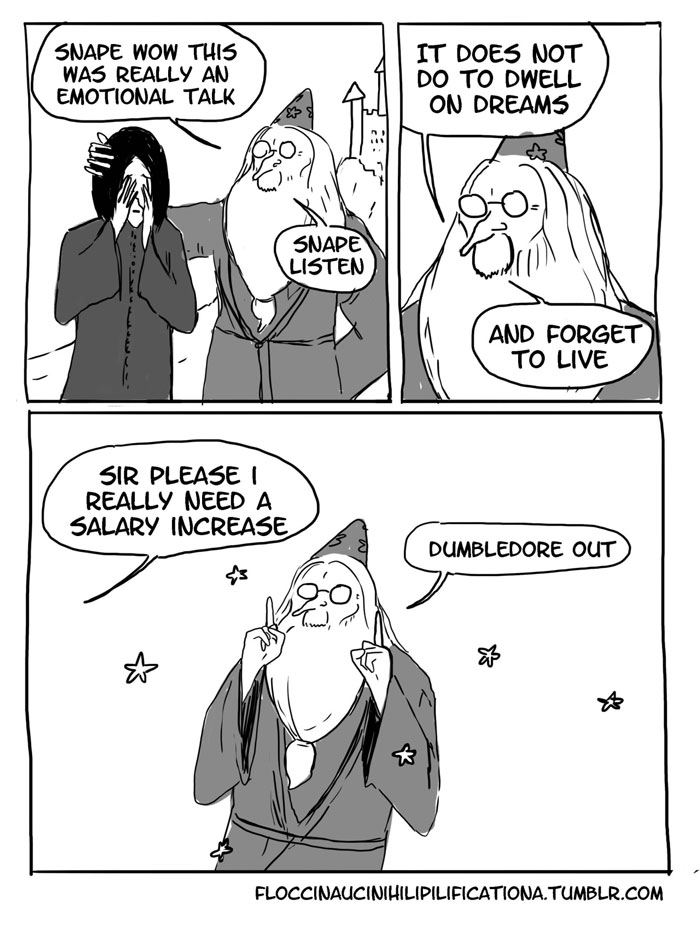 When Dumbledore Made Snape Do Dangerous Things