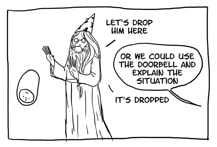 15 Funny 'Harry Potter' Comics Reveal How Irresponsible Dumbledore Was