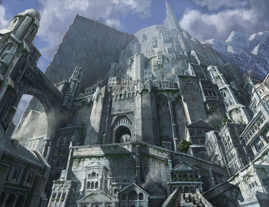 These architects are crowdfunding to build real lord of for Architecture fantastique