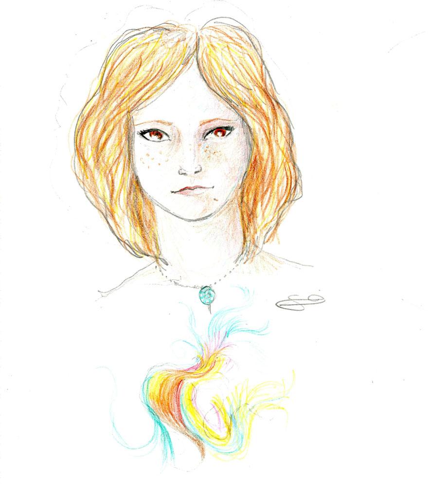 Lsd portrait drawings girl 1