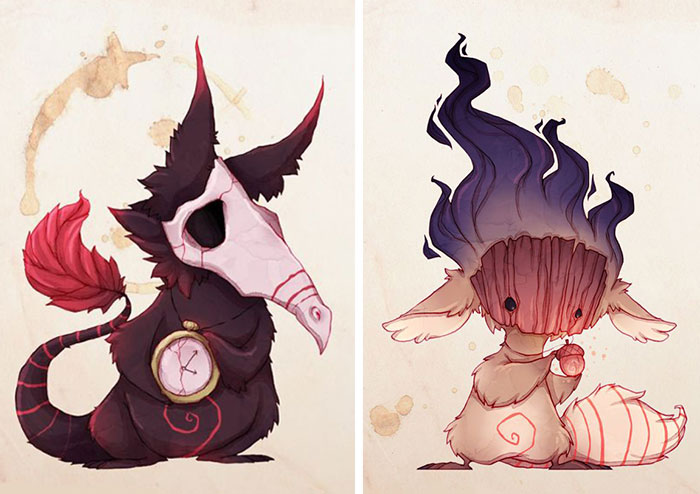 Artist Suffering From Anxiety Illustrates Mental Illnesses As Real Monsters
