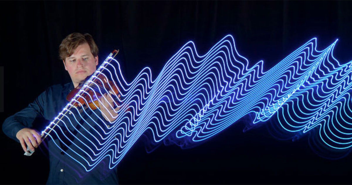 Photographer Uses LED Lights To Capture The Motions Of Musicians | Bored Panda  sc 1 st  Bored Panda & Photographer Uses LED Lights To Capture The Motions Of Musicians ...