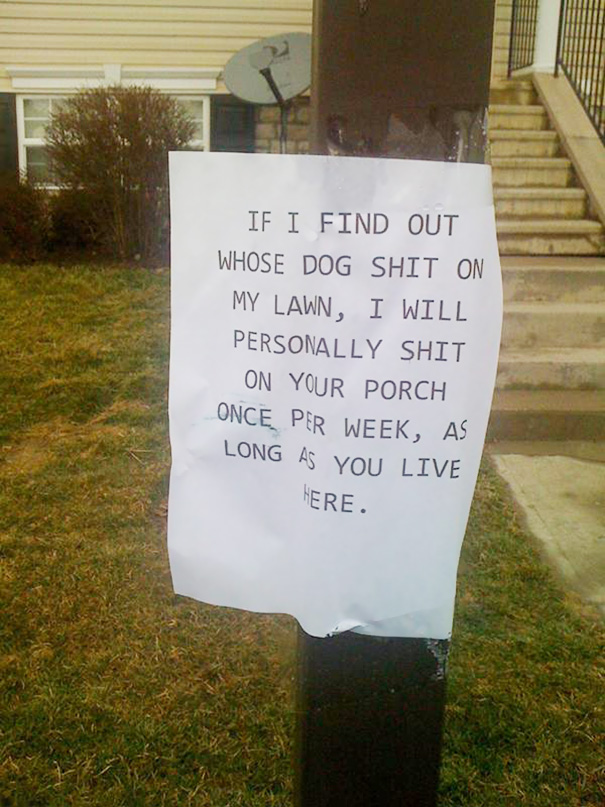 Note To Neighbor