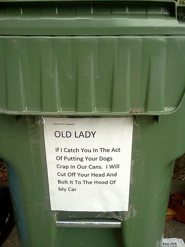 Angry Neighbor Note