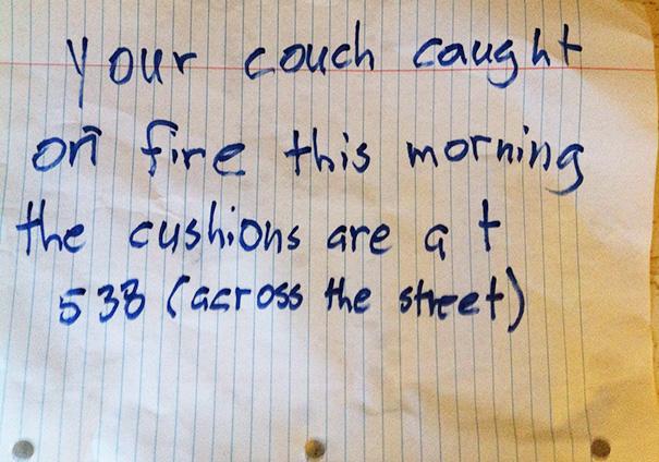Friendly Neighbor Note