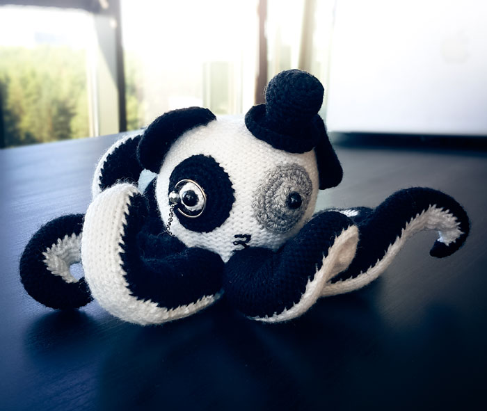 Look What Just Arrived To Our Office – A Pandapus!
