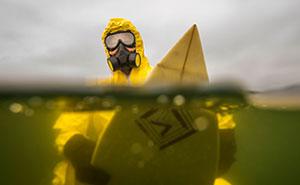 Hazmat Surfing: My Photos Predict A Poisonous, Dark Future For Our Oceans