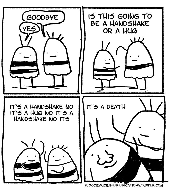 Socially Awkward Bee