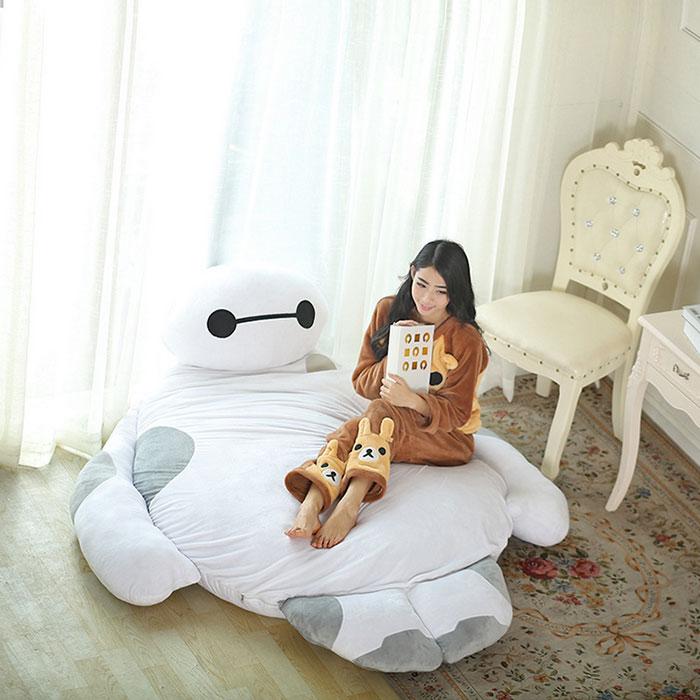 Life Size Big Hero 6 Baymax Sofa Bed That Hugs You While