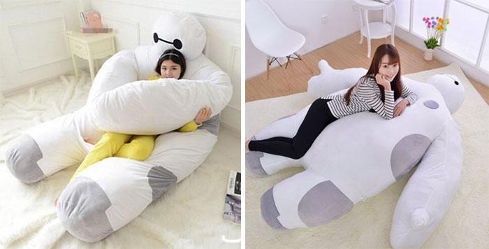 Life Size 'Big Hero 6' Baymax Sofa Bed That Hugs You While You Sleep
