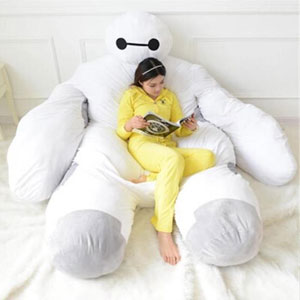 Life Size 'Big Hero 6' Baymax Sofa Bed That Hugs You While You Sleep